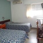 Habitación sencilla pero cómoda