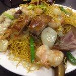 House special fried crispy noodles, excellent!