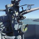 Forward gun turret