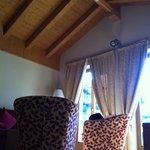 soggiorno della suite