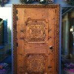 magnifica porta d'ingresso
