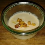 Cauliflower soup - yum, yum