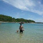 La playa (desde azedinha)