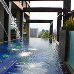 The lovely infinity edge pool