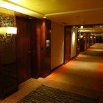 Hallways of executive floor