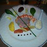 lobster appetizer - half lobster Bellevue