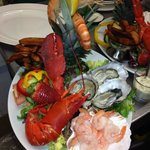 seafood night held monthly an amazing platter