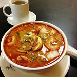 Seafood Laksa Soup Yum :-)
