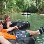 Tubing on the White River with Calypso Rafting