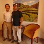 Daniel e o querido Rodrigo do Tierra Viva