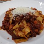 The Bolognese.  Not as good as it looked.