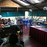 Cafe Haji Awang - One of the best cafe on the river