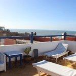 sunchair terrace