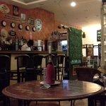 Interior with bar