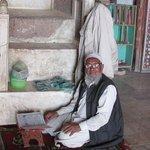 An Elderly gentleman at worship