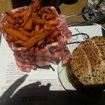 Greasy sweet potato fries