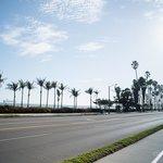 Strandpromenaden 40m från Motellet.