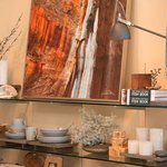 Housewares and fine art from the region