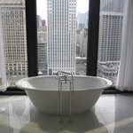 One of the bath tubs!