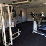 Wonderful fitness room.