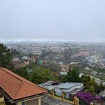 Вид на город из отеля