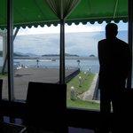レストランからの海の眺め