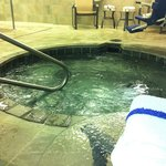 Hot Tub in The Pool Area