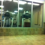 Gym Area taken from Indoor Pool Area
