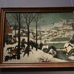 """Pieter Bruegel """"The Hunters in the Snow"""""""