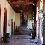 Vista interior del Hotel Posada Hidalgo