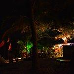oasis is a bar just near the beach , back of sunset beach resort