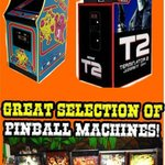 Classic Arcade Game Selection!