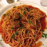 Spaghetti con Polpette... Molto molto buono