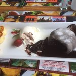 Chocolate lava cake ***drools***