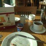 Breakfast all gone