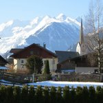 A country walk view of the mountains in Rauris