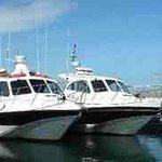 The boats. Scimitar & Cutlass.