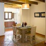 Apartamento dúplex Comedor y cocina