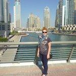 Район Дубай Марина.