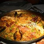 Mix Paella( 2 shrimp, seafood, and pork)