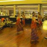 Thai dance show in the Rim Talay restaurant one evening