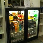 Great honesty bar in the residents lounge.