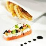 Le saumon frais label rouge - Le Clair de la Plume - Grignan - Provence