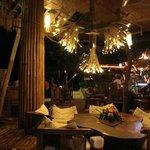 Cozy dining/restaurant/bar area