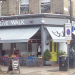 The lovely love walk cafe.