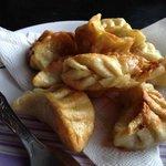 Fried veg momos