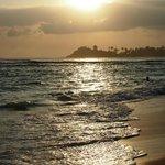 Замечательный пляж