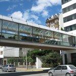 Overhead walway Panamericano Hotel