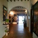 interno di Villa Kiva