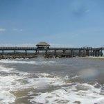 the pier daytime